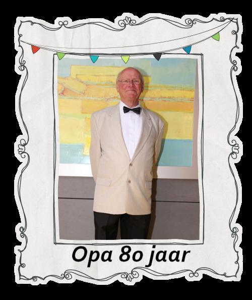 Bekend Opa 80 jaar SO27