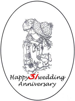 31 jaar getrouwd 31 jaar! 31 jaar getrouwd